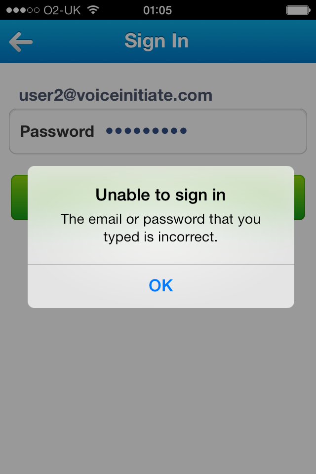 iPad / iPhone cannot log into Cisco WebEX Meeting Server